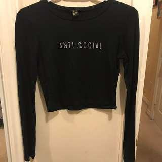 Antisocial black top