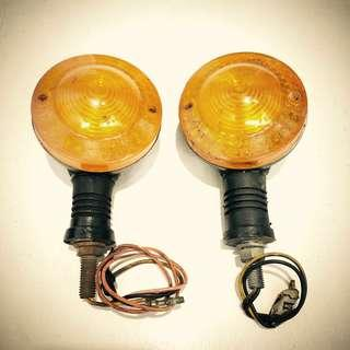 Motorcycle signal lights
