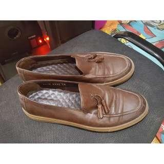 Hotic Brown Leather Shoes