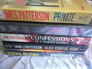 Private Berlin/Private/Confessions of a Murder Suspect/Alex Cross Run/Obsession