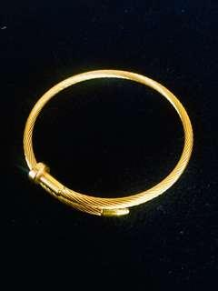 Cartier Nail Wired Bangle