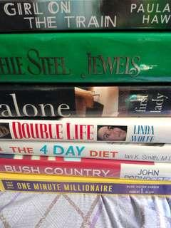 The Girl on the Train/Jewels/First Lady/Double Life/The 4 Day Diet/Bush Country/ One Min.Millionaire