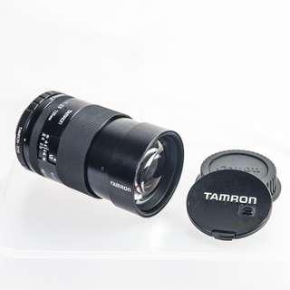 TAMRON 135MM F2.5 BBAR MC CLOSE FOCUS LENS with Canon EOS mount