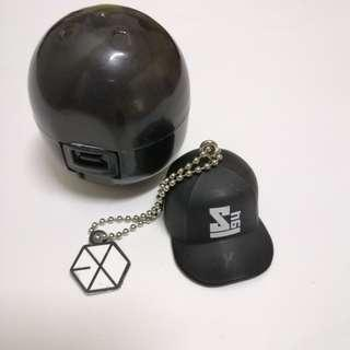 EXO Sehun Japan cap keyring