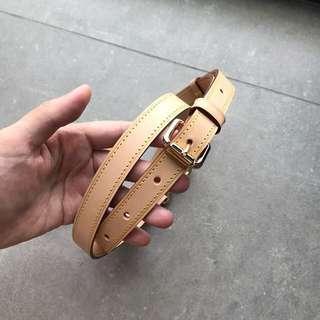 Ready Stock: Vachetta Leather Straps LV