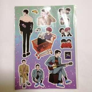 EXO Sehun Chanyeol We Young sticker