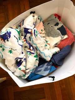 Fast Deal to clean - Boys clothes (1-2 years old)