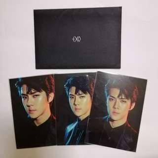 EXO Sehun Exordium Super Natural Power Card set