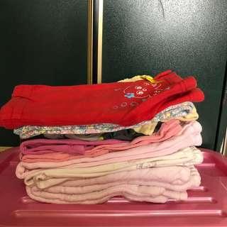 🚚 女童棉褲