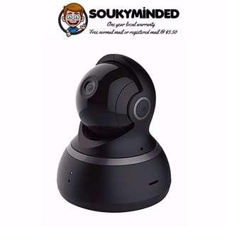 [IN-STOCK] YI Dome Camera 1080p HD Pan/Tilt/Zoom Wireless IP Security Surveillance System with Auto-Cruise, Motion Tracker, Activity Alert, Night Vision, iOS, Android App - Cloud Service Available (Black)