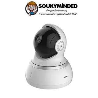 [IN-STOCK] YI Dome Camera, 1080p HD Indoor Pan/Tilt/Zoom Wireless IP Security Surveillance System with Night Vision, Motion Tracking - Cloud Service Available (White)