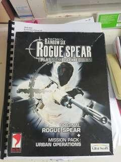 Tim claney'rainbiw 6 rogue spear