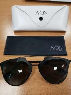 Brand New AQS unisex aviator sunglasses