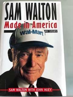 Sam Walton - Made in America *Like New*