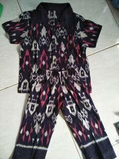 Set batik baby