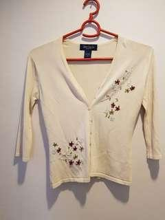 Pretty Beige Cardigan