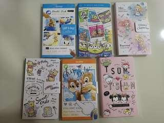 BN Disney notebooks