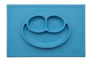 Ezpz Happy Mat blue table feeding baby led weaning