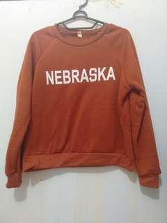 Sweater coklat lucu