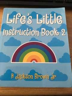 Life's Little Instruction Book 2 by H. Jackson Brown, Jnr