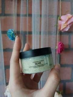 The Body Shop - Olive Exfoliating Cream Body Scrub