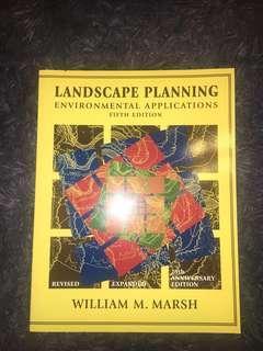 EUS 501: Landscape Planning Environmental Applications 5th Edition