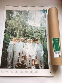 [WTS] BTS 2019 Season's Greetings Wall Calendar
