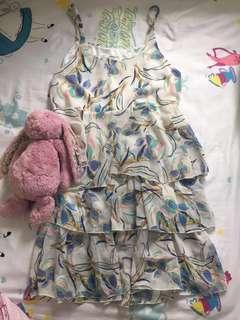 (BN) Floral Chiffon Speg Dress