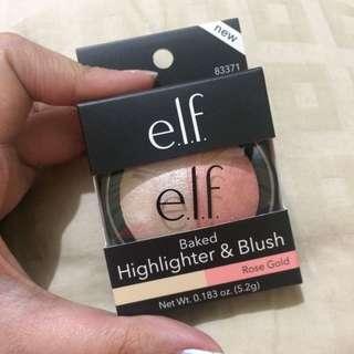 ELF Baked Highlighter & Blush