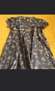 Dress anak batik keris
