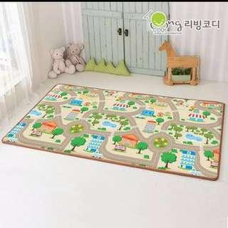 BN Living Kodi Happy Town / Cat PE Korea Playmat Large L Size