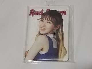 Red Velvet Official Wendy Passport Cover Red Room