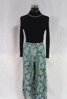 New design!! Floral lace pants