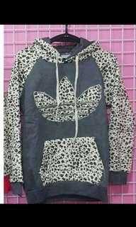 🚚 韓新款豹紋厚刷毛棉T#全新女裝