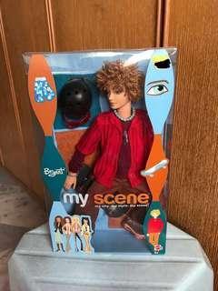 Rare Myscene Guy Doll