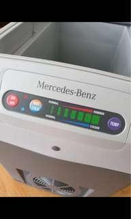 Mercedes car cooler box