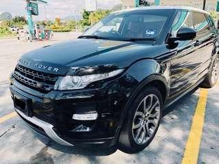 SEWA BELI  RANGE ROVER EVOQUE SUPER DYNAMIC FULLSPEC YEAR 2014/2017 MONTHLY RM 3711 BALANCE 7 YEARS 6 MONTHS ROADTAC OCT 2019 PANORAMIC ROOF TIPTOP CONDITION  DP KLIK wasap.my/60133524312/evoq