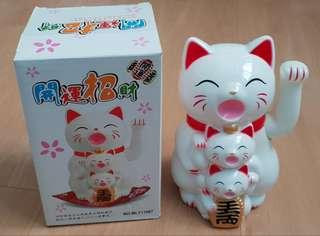 New CNY Fortune Cat with Waving Hand