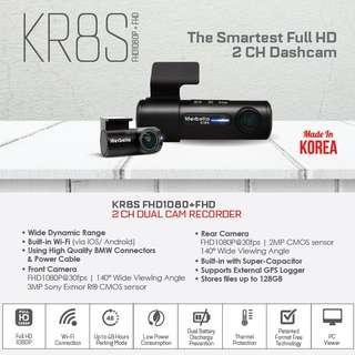 All New Marbella Kr8s 2 Channel full hd camera.