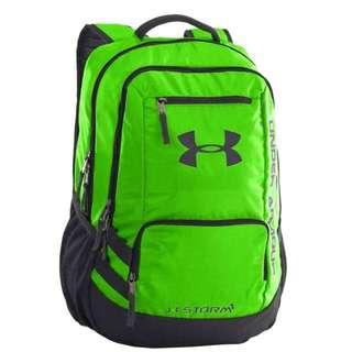 Under Armour Unisex Neon Green Casual Backpack