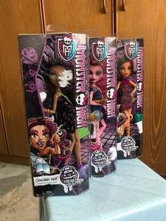 Monster High Doll Freaky Field Trip