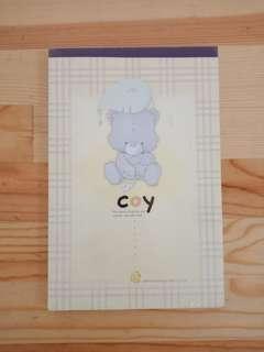 Buku kertas surat fancy 003
