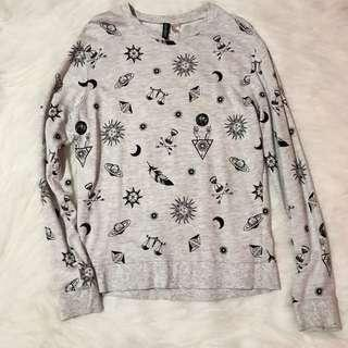 H&M Printed Pullover/Sweater