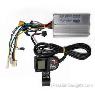 E-Scooter Throttle + Controller with Hall Sensor Set