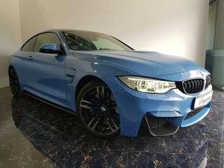 BMW M4 Coupe LED NAV HUD