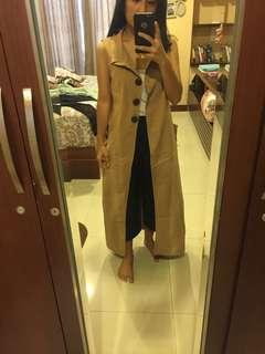 Outer long cardigan