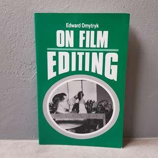 On Film Editing: An Introduction to the Art of Film Construction (Paperback)
