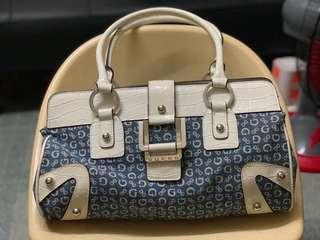 Guess denim shoulder/handbag