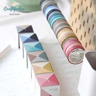🚚 ★Tape★ 4 Rolls Masking, Washi Tape for Scrapbooking, DIY Craft, Journaling