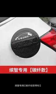 Honda vezel oil petrol fuel carbon fiber cap cover